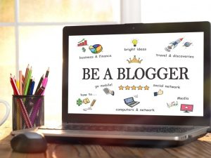 Be a blogger